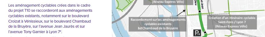 Quel calendrier pour l'accès au tunnel de franchissement de L. Bonnevay pour les modes doux ?